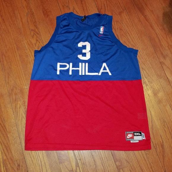 buy popular b2cc2 5dad2 Nike Allen Iverson PHILA Throwback Jerseys